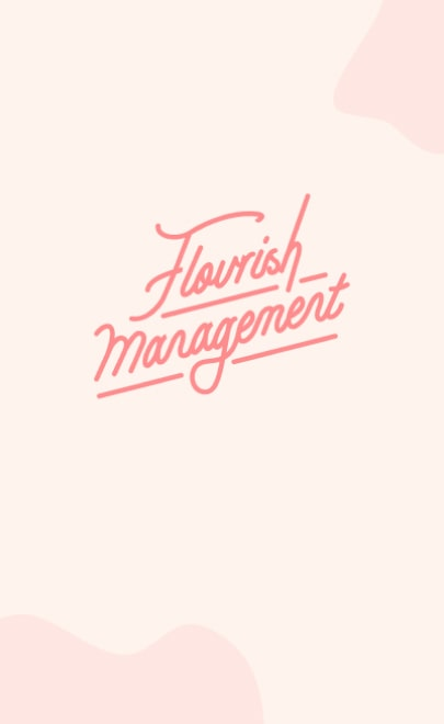 Flourish Management, Designed and Developed by Ester Digital